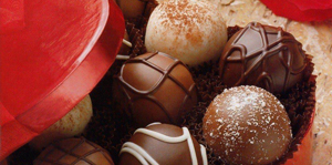 Chocolates y bombones magnificos presentes
