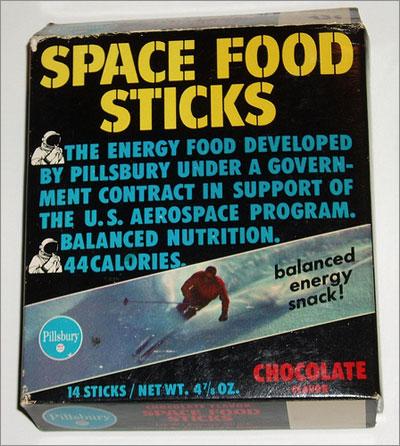 Comida espacial. Chuchelandia, el blog de las chuches y golosinas