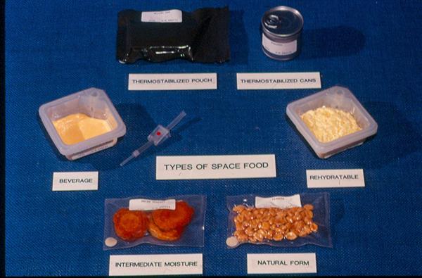 Comida espacial.Chuchelandia, el blog de las chuches y golosinas