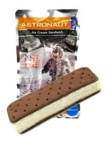 Sandwich de helado astronauta Chuchelandia, el blog de las chuches y golosinas