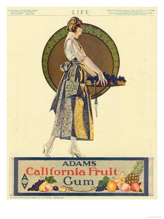 Adams chicle anuncio vintage chuchelandia