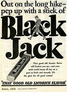 BlackJack vintage Chuchelandia, el blog de las chuches y golosinas