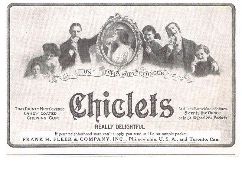 Chiclets vintage Chuchelandia, el blog de las chuches y golosinas