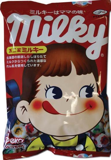 Peko chan milky candy fujiya Chuchelandia, el blog de las chuches y golosinas