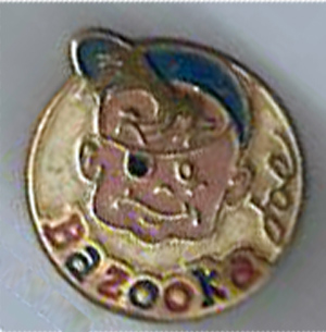 Pin Bazooka joe chuchelandia