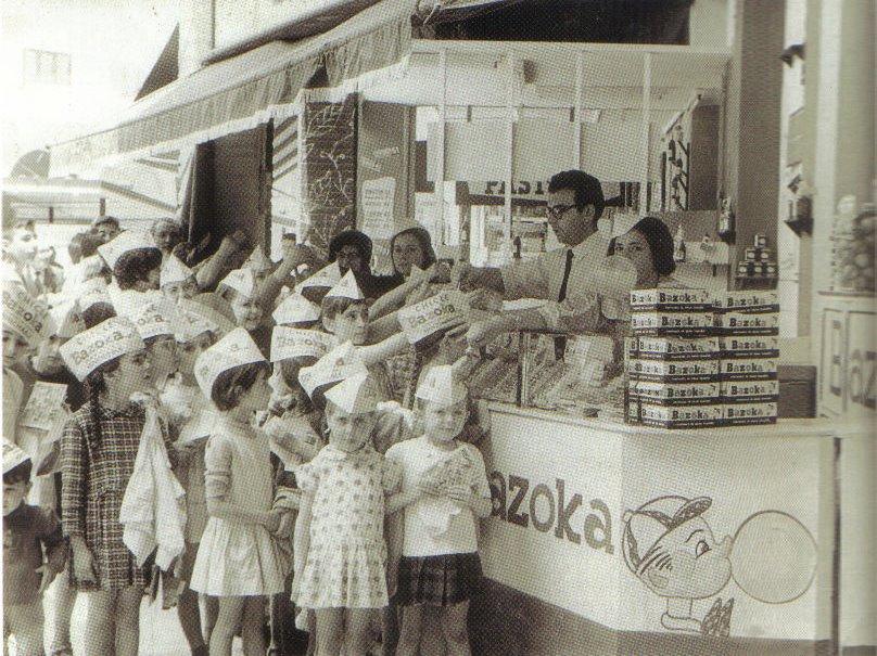 Promocion Bazoka kiosko Akela, Chuchelandia, el blog de las chuches y golosinas