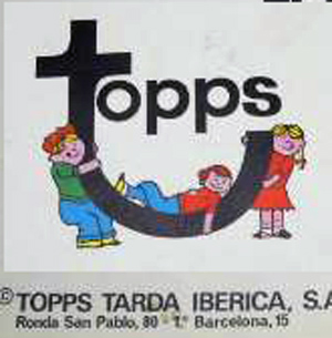 Topps tarda iberica Chuchelandia, el blog de las chuches y golosinas