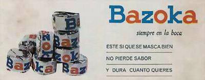 chicles bazoka Chuchelandia, el blog de las chuches y golosinas