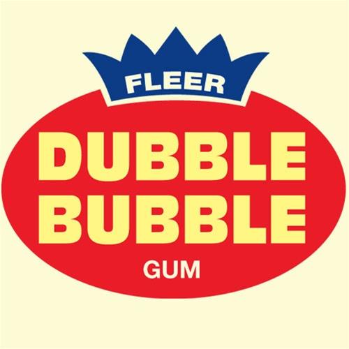 dubble bubble vintage logo Chuchelandia, el blog de las chuches y golosinas
