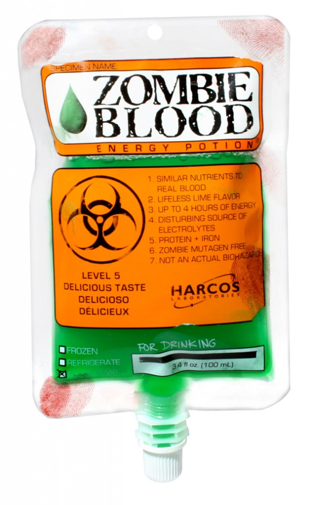 Zombie Blood Halloween Chuchelandia