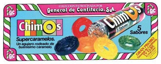Chimos, Top chucherias de los años 60, 70 y 80. Chuchelandia.es