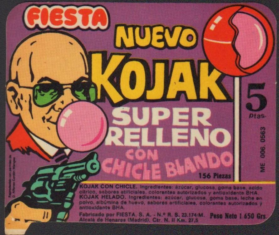 Chupachup kojak, Top chucherias de los años 60, 70 y 80. Chuchelandia.es