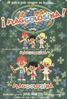 Flaggolosina, Top chucherias de los años 60, 70 y 80. Chuchelandia.es