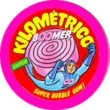 Kilometrico Boomerc hicle boomer, Top chucherías de los años 60, 70 y 80, chuchelandia.es